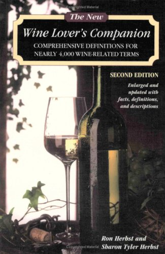 New Wine Lover's Companion  2nd 2003 edition cover