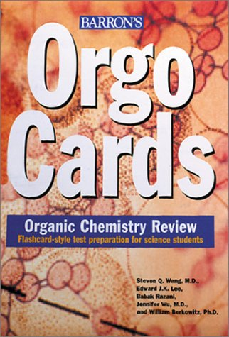 Orgocards Organic Chemistry Review  2002 edition cover