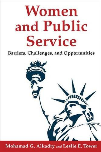 Women and Public Service Barriers, Challenges, and Opportunities  2014 edition cover
