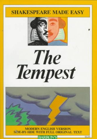 Tempest Modern English Version Side-by-Side with Full Original Text  1985 edition cover
