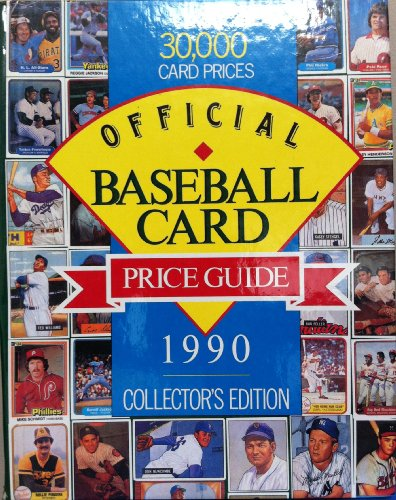 Official Baseball Card Price Guide  1990 9780881768039 Front Cover