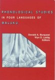 Phonological Studies in Four Languages of Maluku  N/A 9780883128039 Front Cover