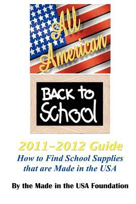 All American Back to School 2011-2012 Guide N/A edition cover