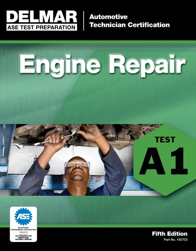 ASE Test Preparation - A1 Engine Repair  5th 2012 edition cover