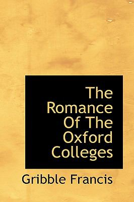 Romance of the Oxford Colleges N/A 9781113884039 Front Cover