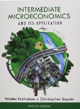Intermediate Microeconomics and Its Application (Book Only)  12th 2015 edition cover