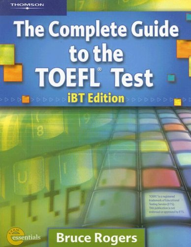 Complete Guide to the Toefl Test  4th 2007 edition cover