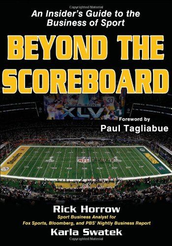 Beyond the Scoreboard An Insider's Guide to the Business of Sport  2011 edition cover