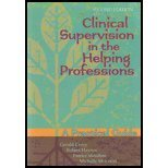 Clinical Supervision in the Helping Professions A Practical Guide 2nd 2010 edition cover