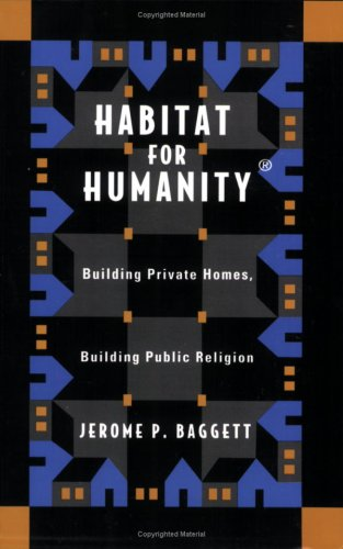 Habitat for Humanity Building Private Homes, Building Public Religion  2000 edition cover