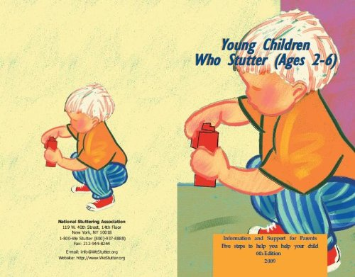 YOUNG CHILDREN WHO STUTTER AGE N/A edition cover