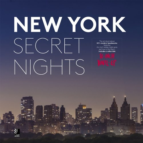 New York Secret Nights:   2013 edition cover