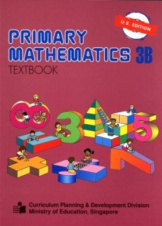 Primary Mathematics 3b Textbook  N/A edition cover