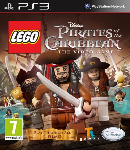 Disney Lego Pirates Of The Caribbean (Ps3) PlayStation 3 artwork