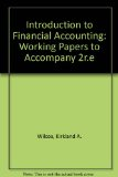 Introduction to Financial Accounting: Working Papers to Accompany 2r.e  0 edition cover