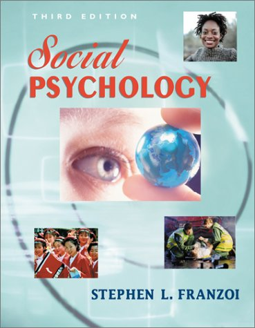 Social Psychology 3rd 2003 9780072489040 Front Cover