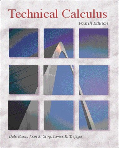 Technical Calculus  4th 2002 edition cover