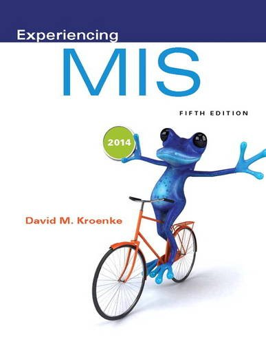 Experiencing MIS  5th 2015 edition cover
