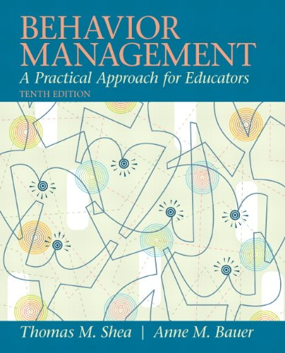 Behavior Management A Practical Approach for Educators 10th 2012 (Revised) edition cover