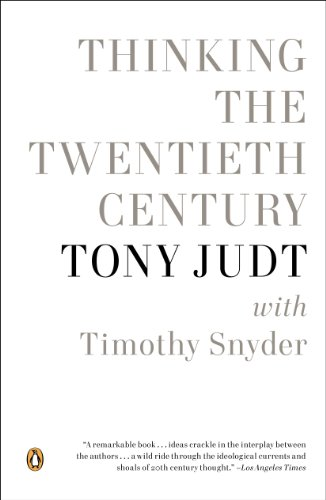 Thinking the Twentieth Century  N/A edition cover