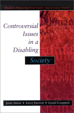 Controversial Issues in a Disabling Society   2003 edition cover