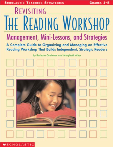 Revisiting the Reading Workshop Management, Mini-Lessons, and Strategies  2003 (Teachers Edition, Instructors Manual, etc.) edition cover