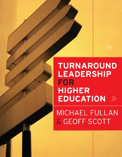 Turnaround Leadership for Higher Education   2009 9780470472040 Front Cover