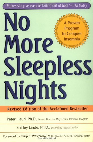 No More Sleepless Nights  2nd 1996 (Revised) edition cover