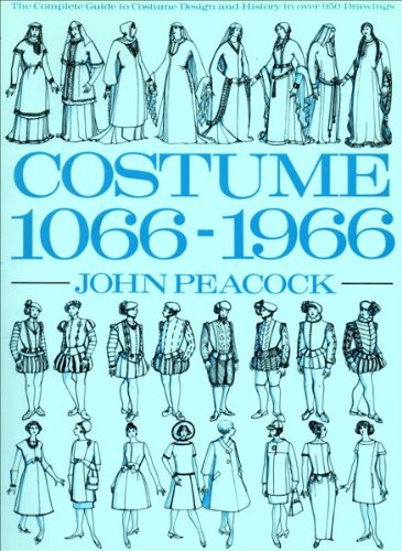 Costume Ten Sixty-Six to Nineteen Sixty-Six 1st 1986 9780500274040 Front Cover