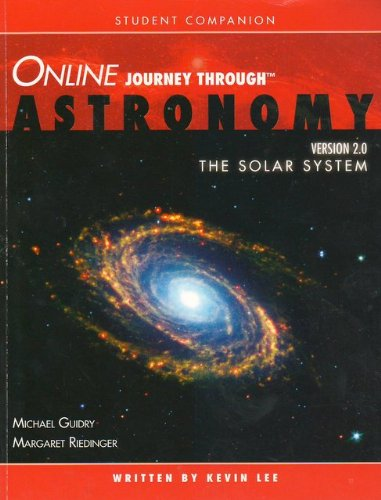 Student Companion for Solar System  2nd 2005 9780534400040 Front Cover
