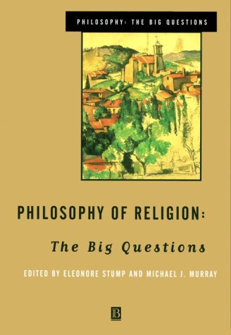 Philosophy of Religion The Big Questions  1999 edition cover