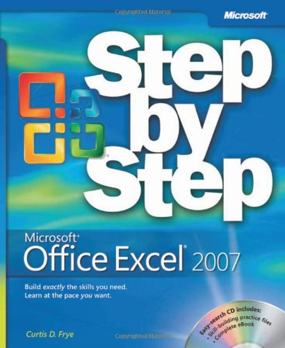 Microsoft� Office Excel� 2007   2007 (Revised) edition cover