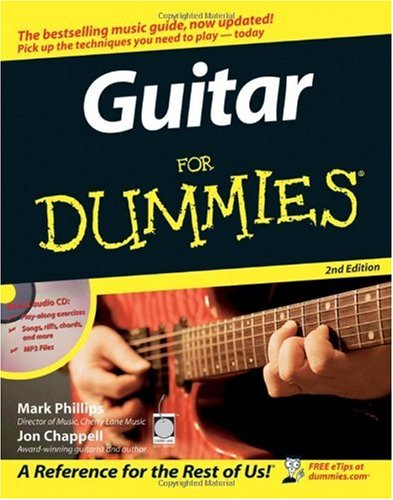 Guitar for Dummies  2nd 2006 (Revised) edition cover