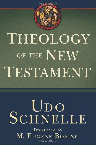 Theology of the New Testament   2009 edition cover