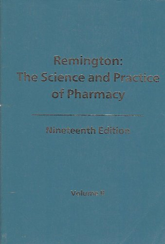 Remington's Pharmaceutical Sciences  18th edition cover