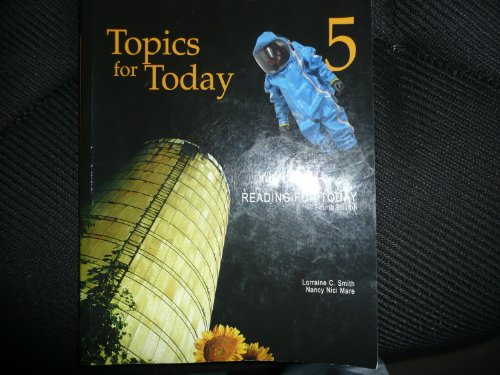 Reading for Today - Topics for Today  4th 2011 edition cover