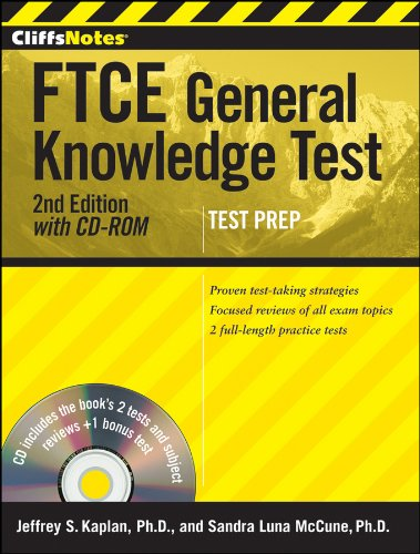 FTCE General Knowledge Test  2nd 2011 edition cover