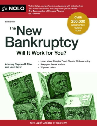 New Bankruptcy Will It Work for You? 5th edition cover