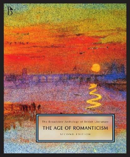 Broadview Anthology of British Literature: The Age of Romanticism  2010 edition cover