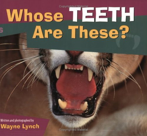 Whose Teeth Are These?   2001 9781552852040 Front Cover
