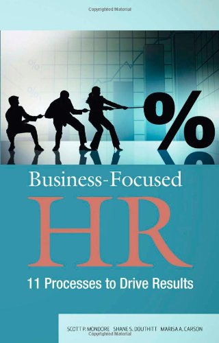 Business-Pocused HR 11 Processes to Drive Results  2011 edition cover