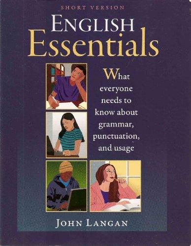 English Essenentials Shorter Version N/A edition cover