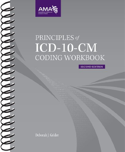 Principles of ICD-10-CM Coding Workbook:   2012 edition cover