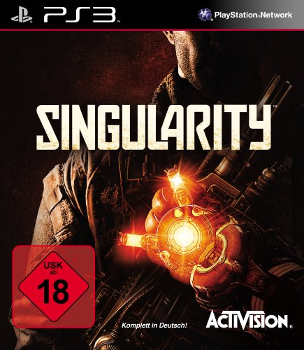 SINGULARITY PlayStation 3 artwork