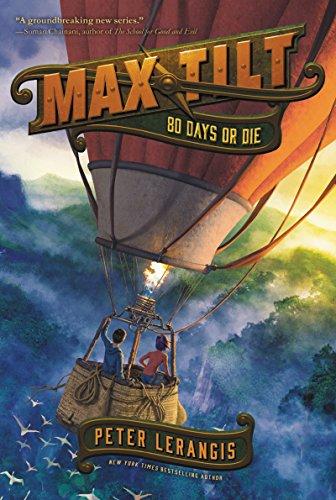 Max Tilt: 80 Days or Die   2019 9780062441041 Front Cover