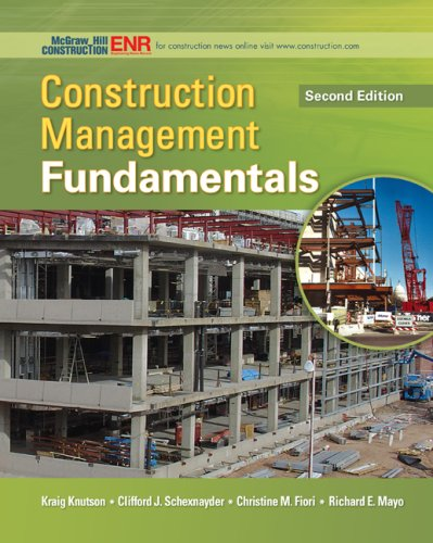 Construction Management Fundamentals  2nd 2009 edition cover