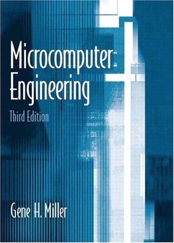 Microcomputer Engineering  3rd 2004 edition cover