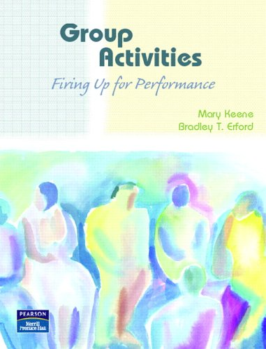 Group Activities Firing up for Performance  2007 edition cover
