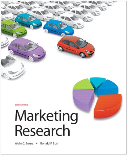 Marketing Research  6th 2010 edition cover