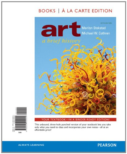 Art A Brief History, Books a la Carte Edition 5th 2012 edition cover